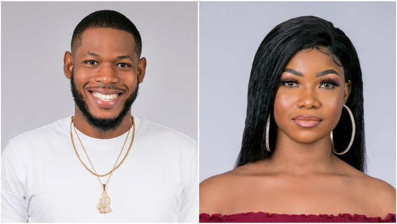 BBNaija 2019 Madness: Tacha goes n9ked while Frodd strips for Esther