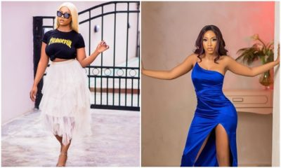 Watch Moments Fans mob Tacha and Mercy (video)